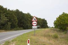 Sinais de tráfego Imagens de Stock
