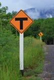 Sinais de tráfego Foto de Stock