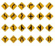 Sinais de tráfego ilustração stock