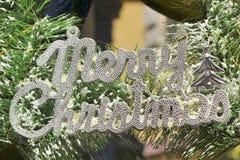 Sinais decorativos das etiquetas do Natal do Natal Imagens de Stock Royalty Free