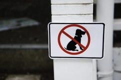 Sinais do cão. Fotos de Stock Royalty Free