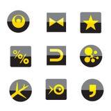 Sinais do negócio do logotipo Imagem de Stock