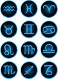 Sinais do zodíaco Imagens de Stock