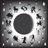 Sinais do zodíaco Fotografia de Stock