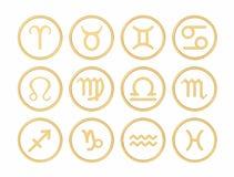 Sinais do zodíaco Fotos de Stock Royalty Free