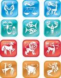 Sinais do zodíaco do Horoscope Fotos de Stock