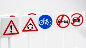 Sinais e símbolos de segurança fotografia de stock royalty free