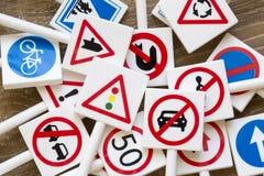 Sinais e símbolos de segurança imagem de stock
