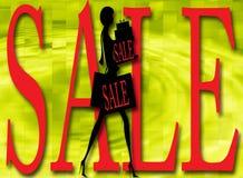 Sinais ilustrados da venda imagem de stock royalty free