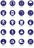 Sinais internacionais de uma comunicação para locais de trabalho. Imagem de Stock Royalty Free