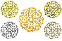 Sinais islâmicos da oração Imagem de Stock Royalty Free