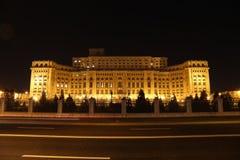 Sinais na frente da casa do parlamento imagem de stock