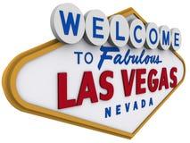 Sinal 4 de Las Vegas Fotos de Stock