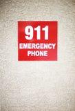 sinal 911 Imagens de Stock Royalty Free