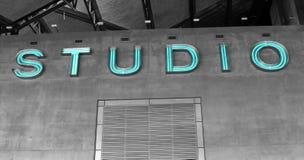 Sinal abstrato do estúdio Imagens de Stock Royalty Free
