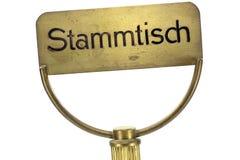 Sinal alemão do biscoito-tambor Imagem de Stock Royalty Free