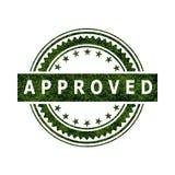Sinal aprovado do ícone do selo Imagem de Stock Royalty Free