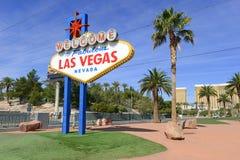 sinal bem-vindo de Las Vegas Fotos de Stock