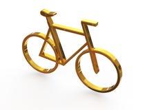 Sinal - bicicleta Foto de Stock Royalty Free