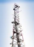 Sinal da antena. fotos de stock
