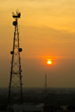 Sinal da antena Foto de Stock Royalty Free