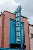 Sinal da avenida de Anchorage 5o Imagens de Stock Royalty Free