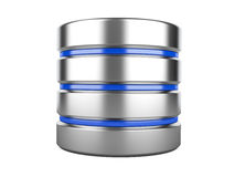 Sinal da base de dados ilustração stock