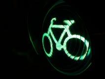 Sinal da bicicleta Fotografia de Stock Royalty Free