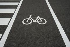 Sinal 2 da bicicleta Foto de Stock Royalty Free