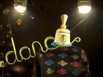 Sinal da dança Fotografia de Stock