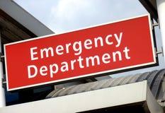 Sinal da emergência Imagens de Stock