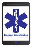 Sinal da emergência médica Foto de Stock