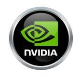 Sinal da empresa de Nvidia foto de stock royalty free