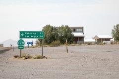 Sinal da estrada CA178 Imagens de Stock