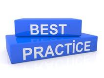 Sinal da melhor prática Foto de Stock