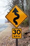 Sinal da velocidade Imagens de Stock