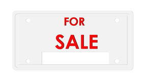 Sinal da venda, símbolo Fotografia de Stock Royalty Free