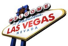 sinal de 3d Las Vegas, Nevada Fotografia de Stock Royalty Free