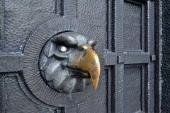 Sinal de aço da águia Imagens de Stock Royalty Free