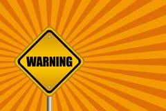 Sinal de aviso ilustração do vetor