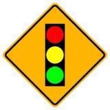Sinal de aviso do sinal, ilustração do vetor, isolado no fundo branco, símbolos, ícone EPS10 ilustração stock