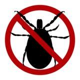 Sinal de aviso erro da colheita em um círculo vermelho Ilustração ilustração do vetor