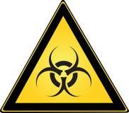 Sinal de Biohazard Imagem de Stock Royalty Free