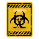 Sinal de Biohazard Fotos de Stock Royalty Free