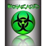 Sinal de Biohazard Fotografia de Stock