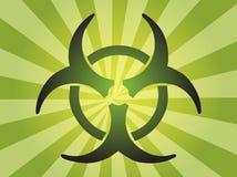 Sinal de Biohazard Fotos de Stock Royalty Free