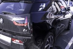 Sinal de BMW foto de stock royalty free