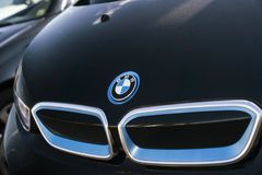 Sinal de BMW fotos de stock royalty free