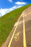 Sinal de Bycicle Imagem de Stock