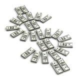 Sinal de dólar Foto de Stock Royalty Free